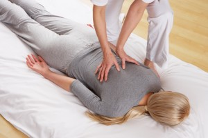 Woman having Shiatsu massage - Cabinet Shiastu Ki - Annecy